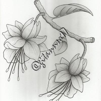Brindille et fleurs