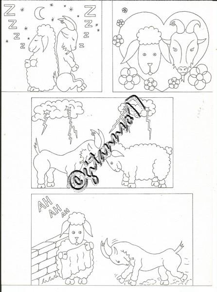 chèvre & mouton 1