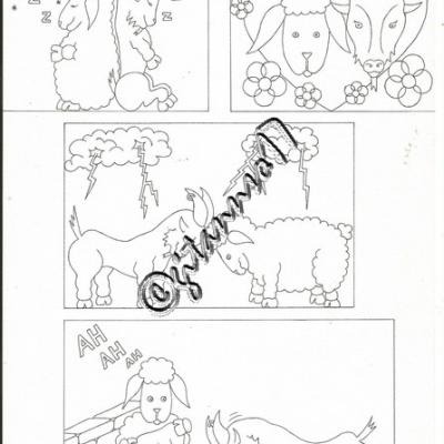 Chèvre et mouton