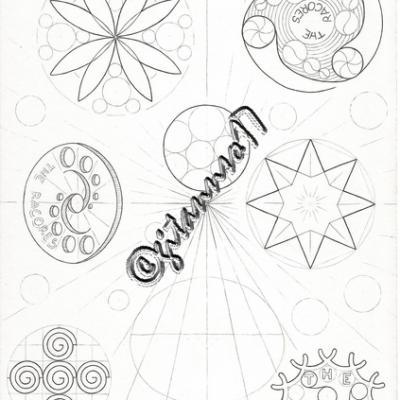 Crop circle et motif