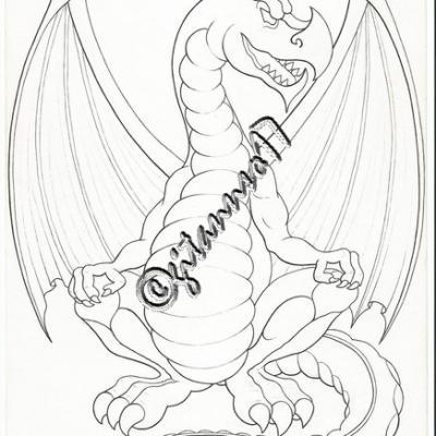 Dragon de la création