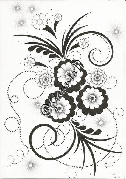 fleurs d'artifices