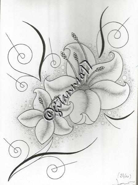Fleurs vaporeuses