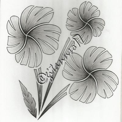 Fleurs en flèche